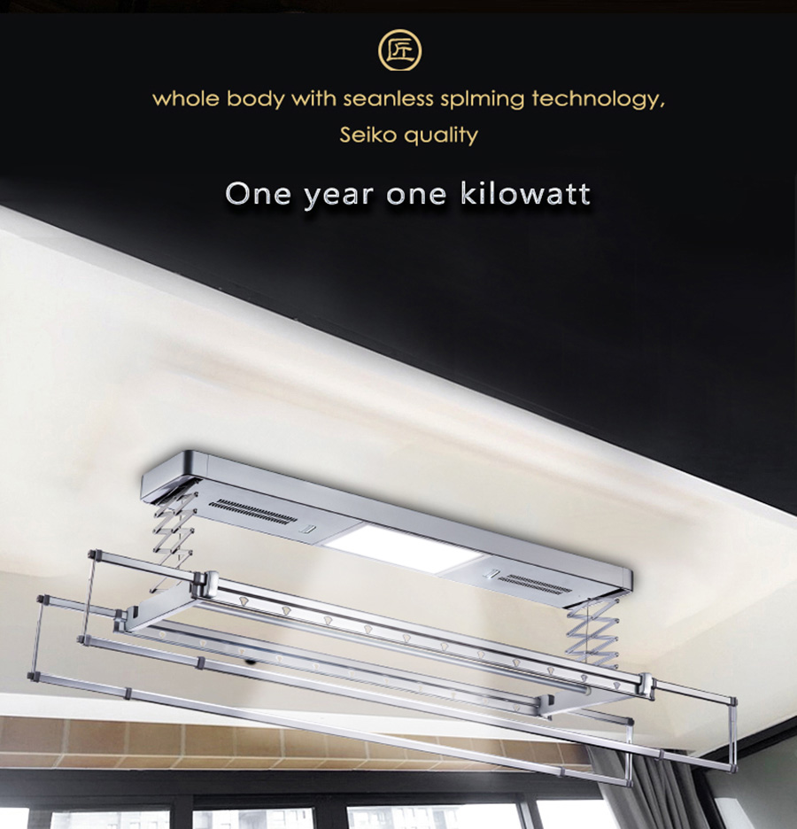 ceiling mounted clothes dryer rack
