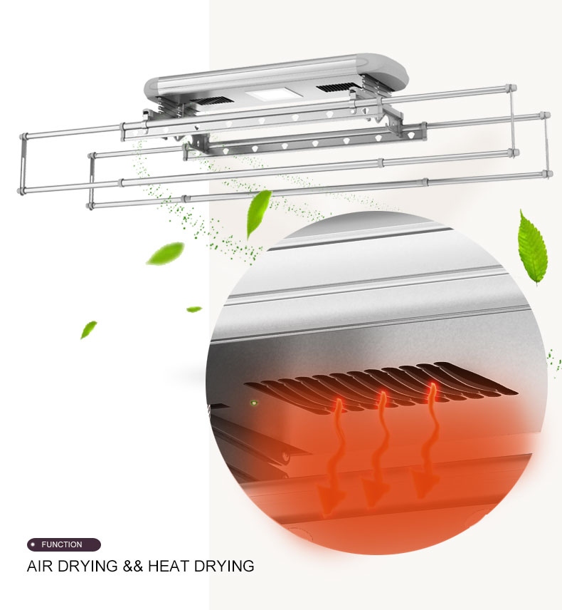 electric heated clothes airer